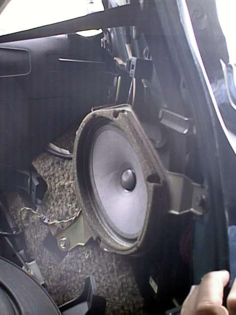 Rear Speaker Replacement  Non